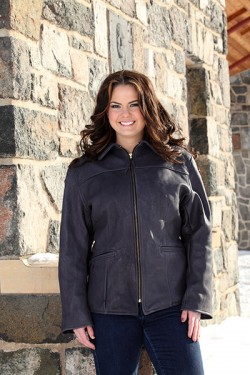 Women's Black Deer Jacket