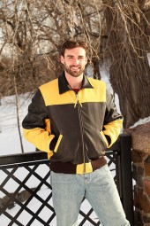 Men's Two-Toned Bomber Jacket