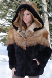 Black Fox Parka