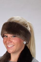 Plucked & Sheared Beaver Headband
