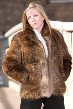 Beaver jacket