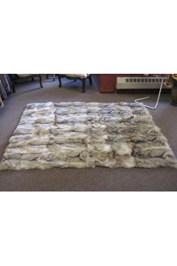 Premium Coyote Fur Bedspread