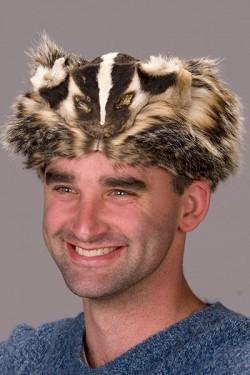 Premium Badger Fur Mountain Man Hat #2