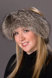 Silver Fox Headband