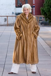 Golden Sable Coat